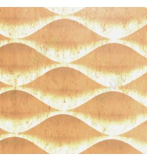 Brown beige  color traditional design texture finished horizontal ogee pattern wallpaper