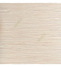 Beige gold color horizontal stripes texture matt finished stitched lines wallpaper