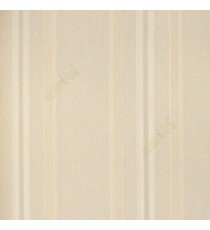 Beige color vertical texture stripes horizontal smal lines fine fabric look finished wallpaper