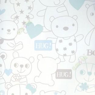 Blue white grey color teddy bear flower star sweet bear hug polka blue white grey color teddy bear flower star sweet bear hug polka dots love kids wallpaper altavistaventures Images
