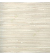 Beige cream gold color horizontal pencil stripes texture finished fabric look thread knots weaving wood plank layers wallpaper