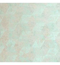 Aqua blue brown color self texture geometric design diamond shape vertical zigzag pattern home decor wallpaper