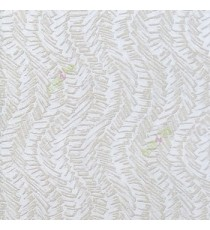 Brown beige green color vertical flowing trendy lines geometric shapes waves rectangular scales snakes pattern texture finished wallpaper