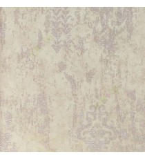 Brown beige color embossed texture monterey plaster pattern traditional texture finished wallpaper