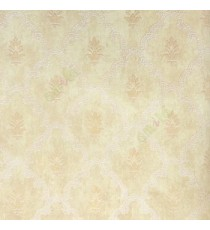 Brown beige grey color traditional damask designs embossed small dots texture finished paisley in designs wallpaper
