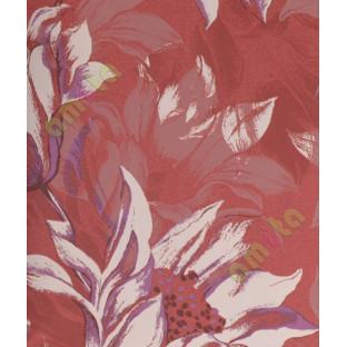 Red White Purple Black Natural Floral Design Home Décor