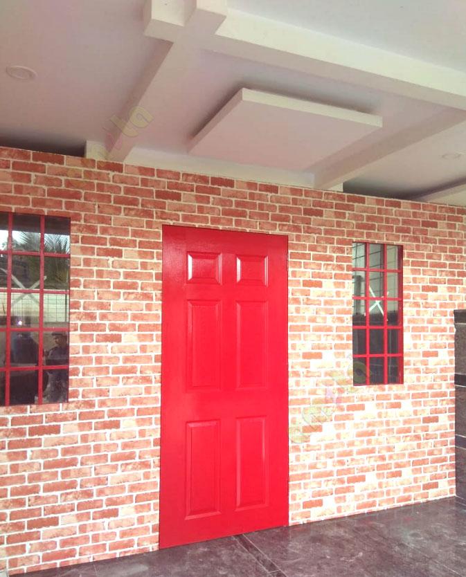 brick wallpaper for walls on bangalore