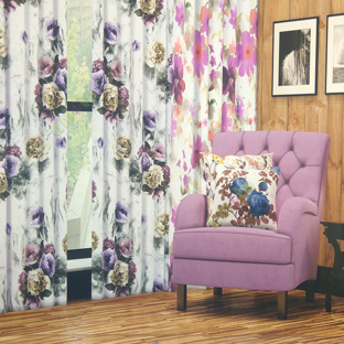 floral curtains in bangalore
