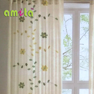 floral sheer curtains in bangalore