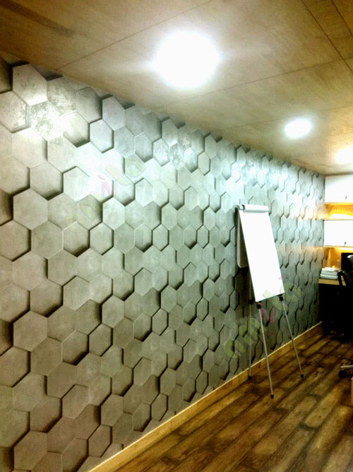 geometric wallpaper for walls in bangalore